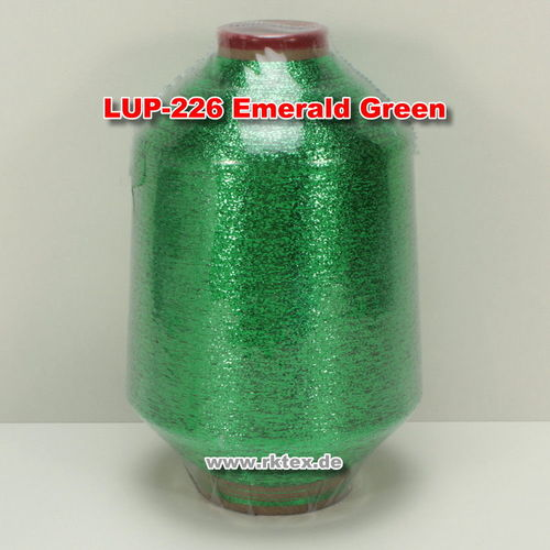 Lurex PMR3720 Glitzergarn Farbe Emerald Green 226