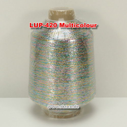 Lurex PMR3720 Glitzergarn Farbe Multicolour 420